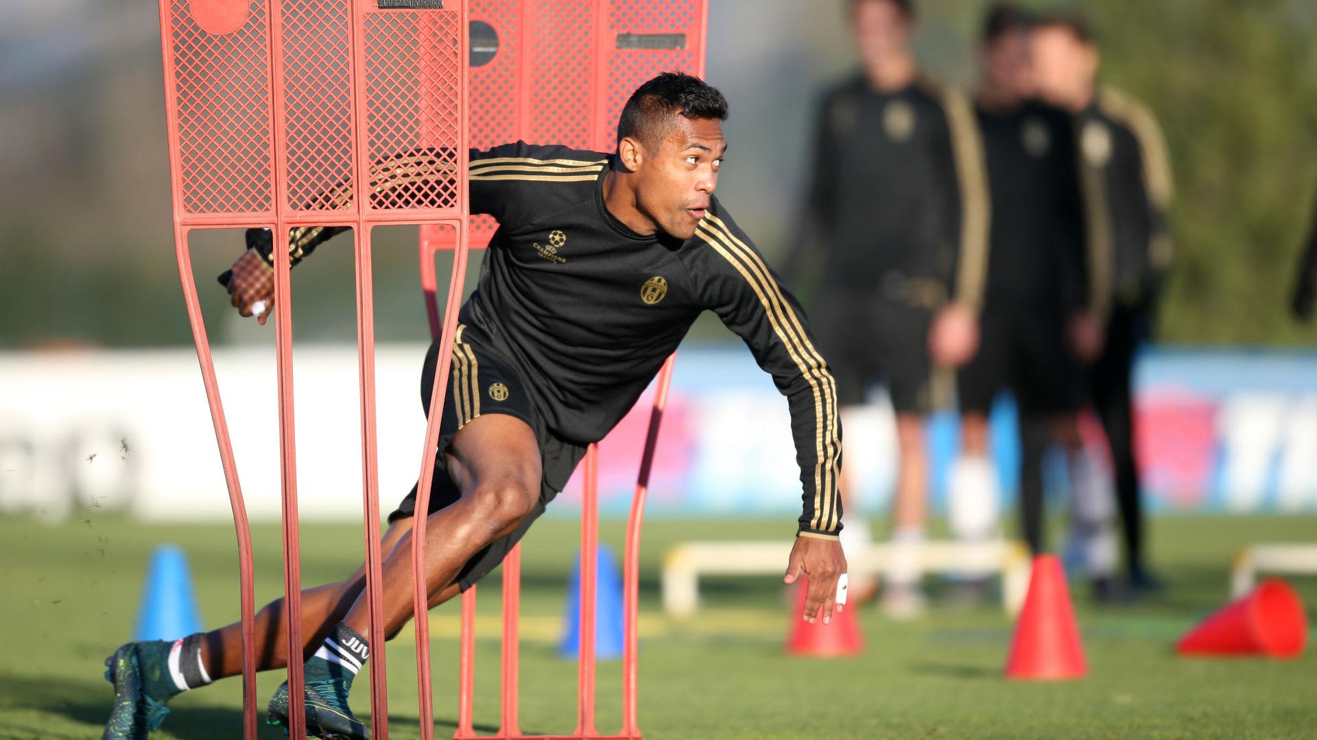 Alex Sandro Juventus Turin Training