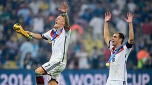 Bastian Schweinsteiger Philipp Lahm DFB Germany 07132014
