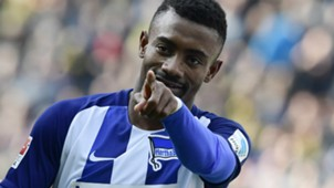 SALOMON KALOU HERTHA BSC BERLIN GERMAN BUNDESLIGA 11032017