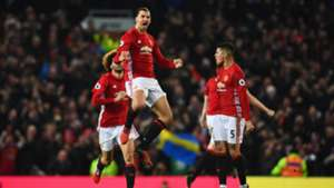 Zlatan Ibrahimovic Manchester United Premier League against Liverpool 15012017
