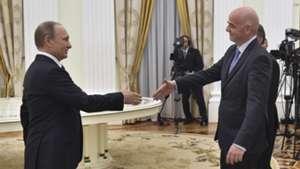 Vladimir Putin Gianni Infantino FIFA 04202016