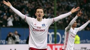 Michael Gregoritsch Hamburger SV Werder Bremen Bundesliga 26112016