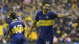Riquelme Boca Juniors Argentinien 30032014
