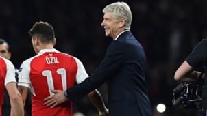 Mesut Özil Arsene Wenger FC Arsenal 032016