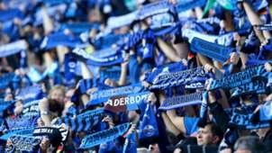 Fans SC Paderborn Bundesliga 27092014