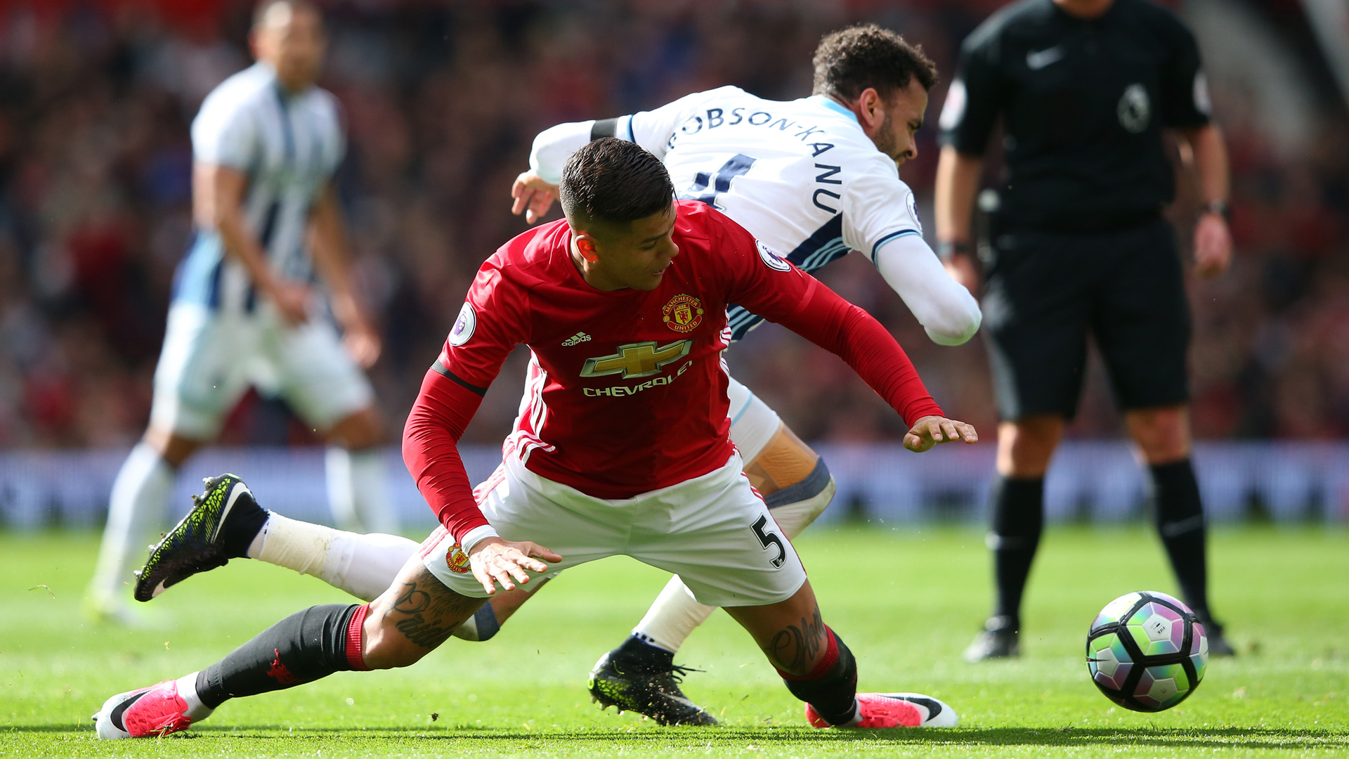 Manchester United West Brom Rojo