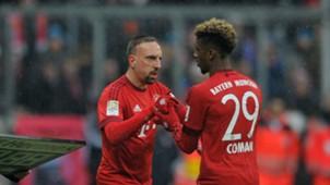 Franck Ribery Kingsley Coman FC Bayern 2016