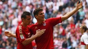Miroslav Klose Mario Gomez FC Bayern