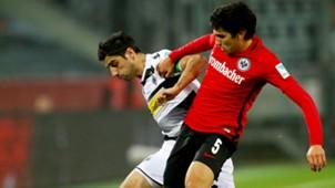 Jesus Vallejo Lars Stindl Eintracht Frankfurt Mönchengladbach Bundesligsa 28102016