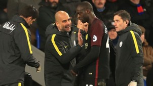 Yaya Toure Pep Guardiola Manchester City 19112016