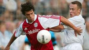 Michael Ballack FC Bayern Marco Schmit Borussia Neunkirchen DFB Pokal 08302003