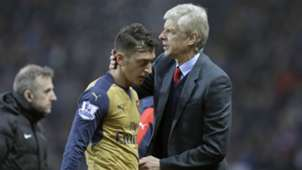 ONLY GERMANY Mesut Ozil Arsene Wenger