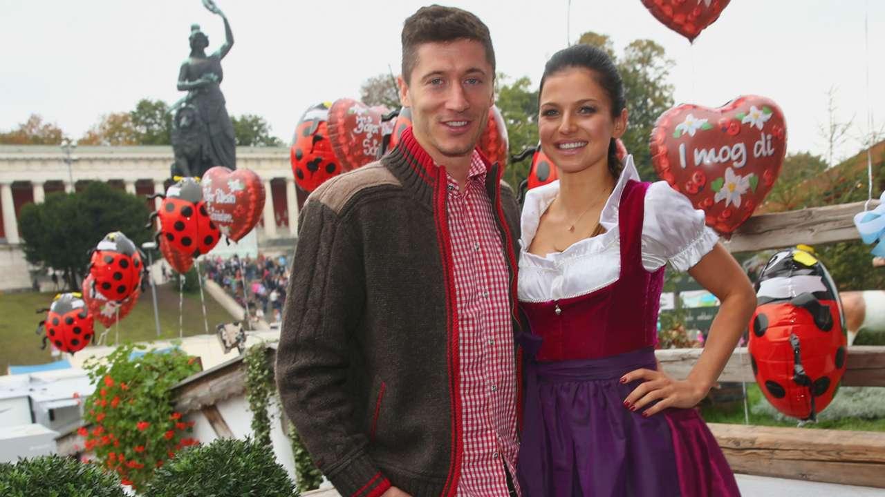 Robert Lewandowski FC Bayern Munchen Oktoberfest