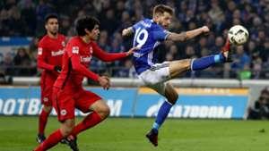FC Schalke Eintracht Frankfurt Bundesliga 27012017