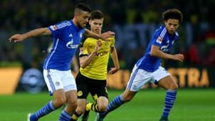 Julian Weigl Leroy Sane Borussia Dortmund Schalke 04 11082015