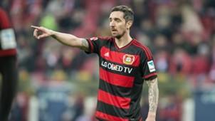 Roberto Hilbert Bayer Leverkusen Mainz 05 Bundesliga 02282016