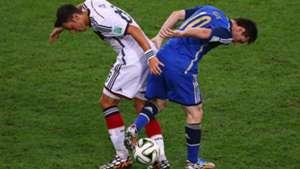 Mesut Özil Lionel Messi Germany Argentina World Cup 13072014