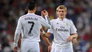 Cristiano Ronaldo Toni Kroos Real Madrid Cordoba Primera Division 08252014