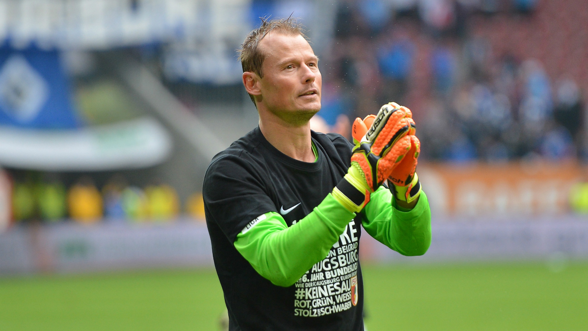 Alexander Manninger FC Augsburg 14052016