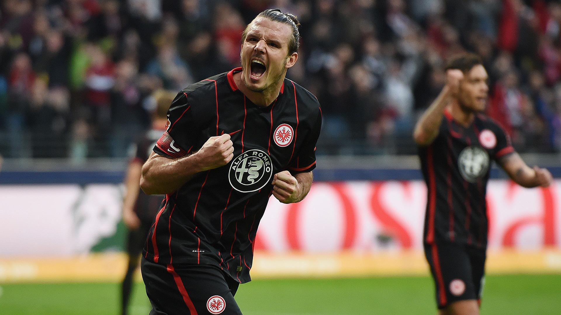 Alexander Meier Eintracht Frankfurt Werder Bremen Bundesliga 12192015