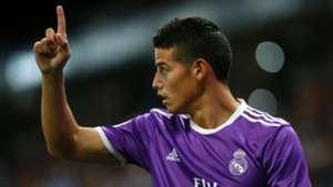 James Rodriguez Real Madrid LaLiga 18092016