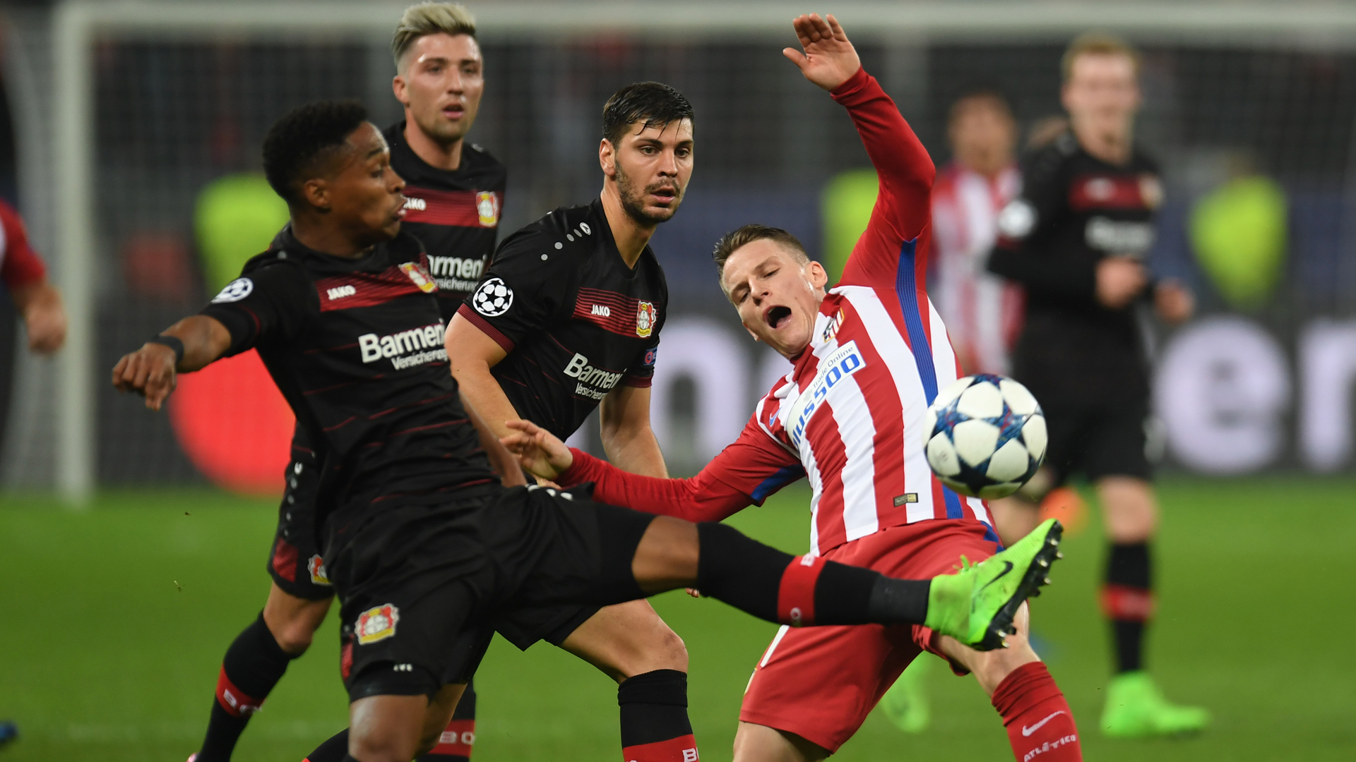 Bayer Leverkusen Atletico Madrid Champions League 21022017