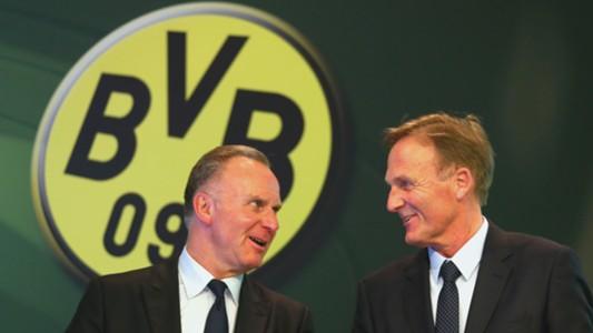 Karl-Heinz Rummenigge Hans-Joachim Watzke Bayern München Borussia Dortmund 20052016