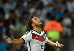 MARIO GOTZE GERMANY 2014 WORLD CUP FINAL 07132014