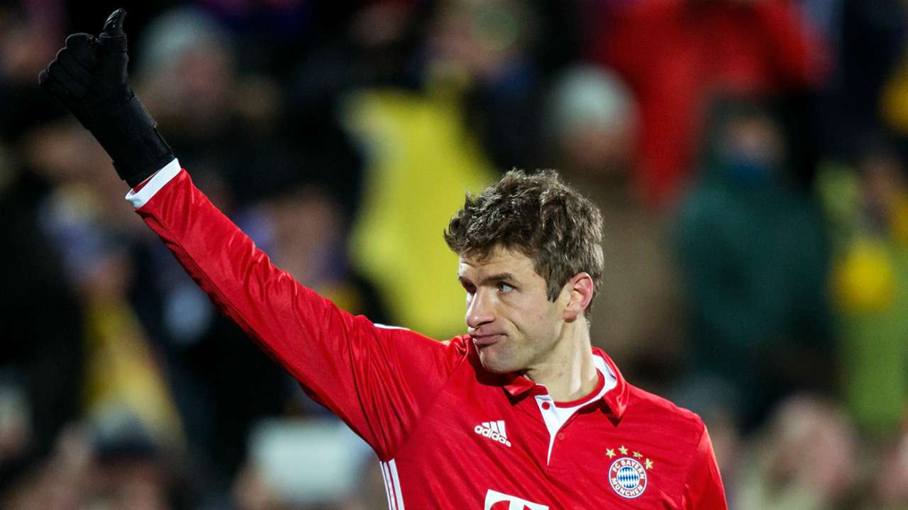 THOMAS MULLER BAYERN MUNCHEN UEFA CHAMPIONS LEAGUE 23112016
