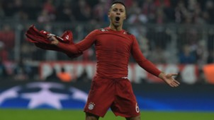 Thiago Alcantara FC Bayern Champions League 16032016