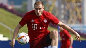 Holger Badstuber Bayern München Training Session 07012016