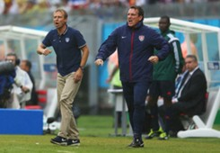 Andreas Herzog Jürgen Klinsmann US Team 2014 World Cup 06262014