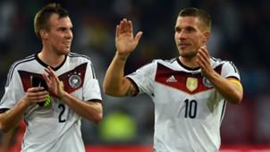 Germany: Kevin Grpßkreutz & Lukas Podolski