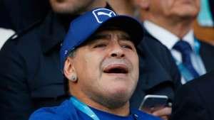 Diego Maradona Argentinien 04102015