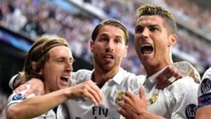 Cristiano Ronaldo Sergio Ramos Luka Modric Real Madrid 02052017