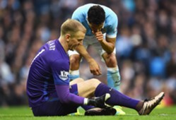 Joe Hart Manchester City Manchester United 03202016