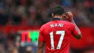 Nani Manchester United Stoke City 26102013