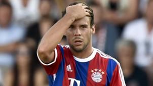 Juan Bernat FC Bayern München Bundesliga 18072014