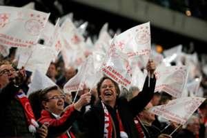 Fans of Ajax Amsterdam