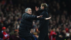 Jose Mourinho Manchester United Liverpool Premier League 15012017