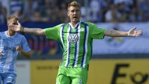 Nicklas Bendtner VfL Wolfsburg 09082015