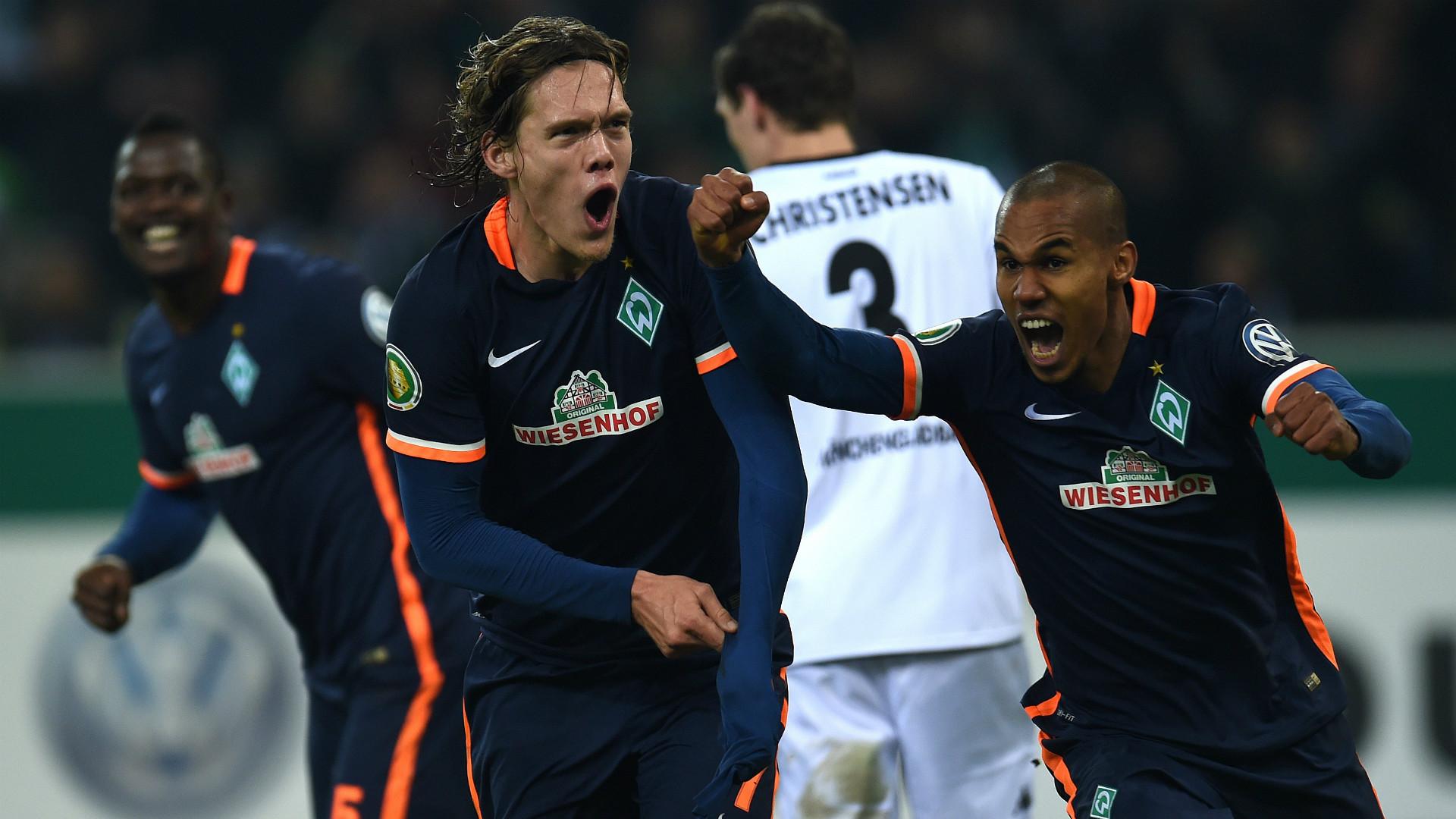 Jannik Vestergaard Borussia Monchengladbach Werder Bremen DFB Pokal 15122015