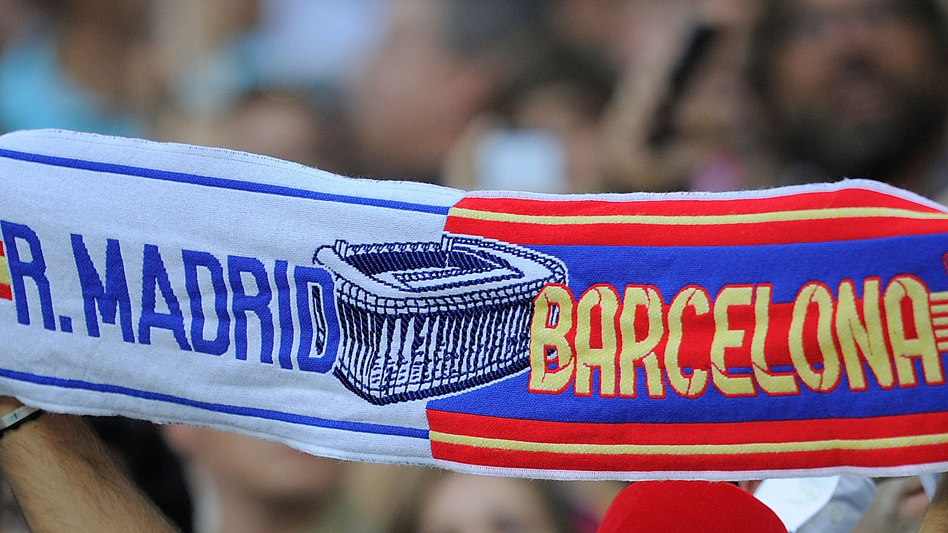 Real Madrid FC Barcelona Clasico Fans Schal