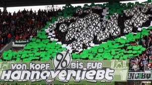 Hannover 96 Fans Choreo