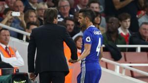 Antonio Conte Cesc Fabregas FC Chelsea