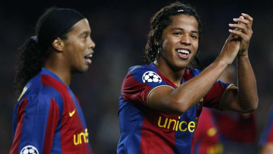 Giovani Dos Santos anotó con el FC Barcelona
