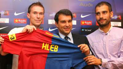 Aleksandr Hleb Barcelona 16072008