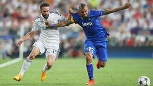 Dani Carvajal Real Madrid Arturo Vidal Juventus Turin Champions League 05132015