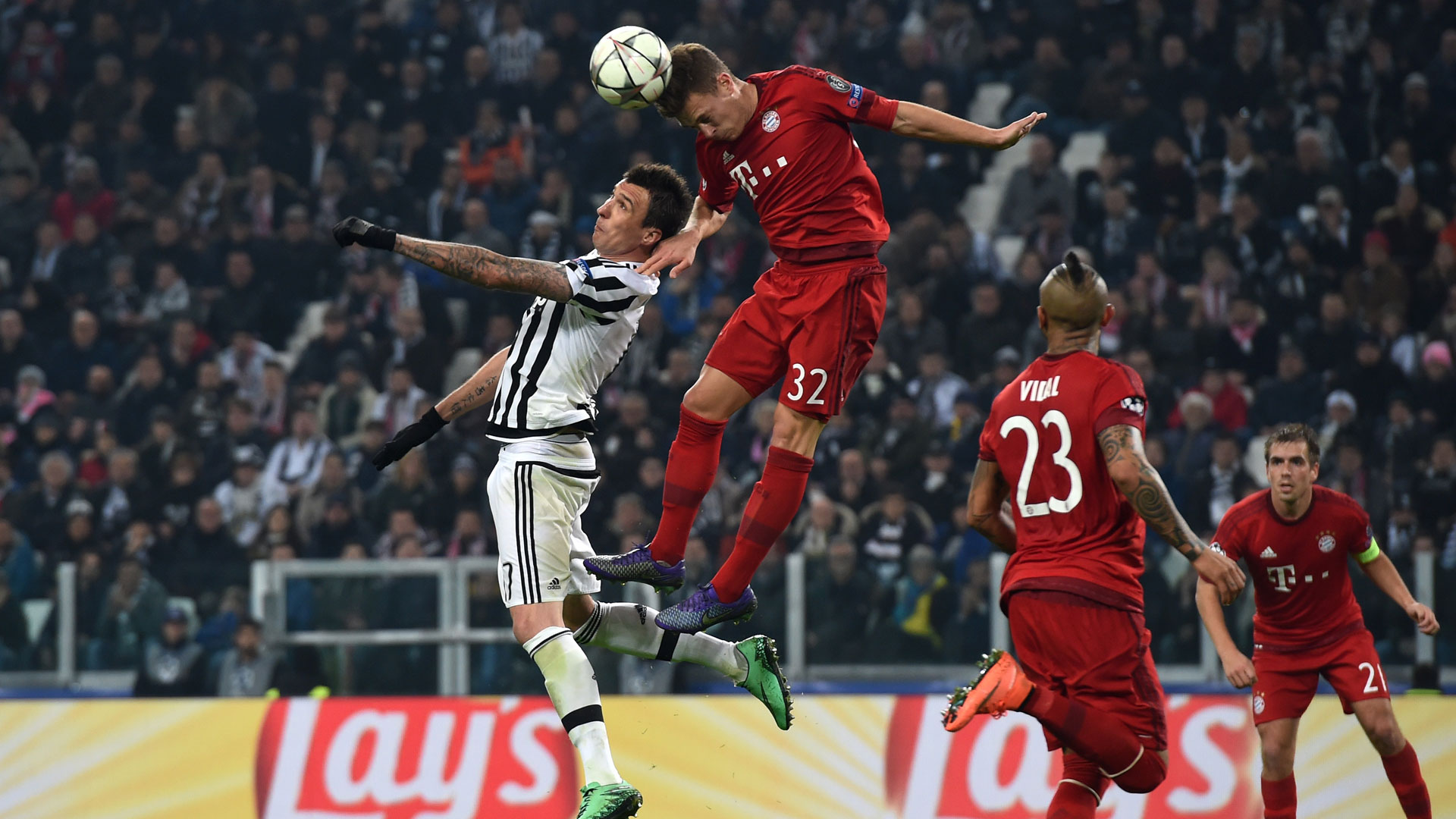 Joahua Kimmich Bayern München Champions League against Juventus 23022016