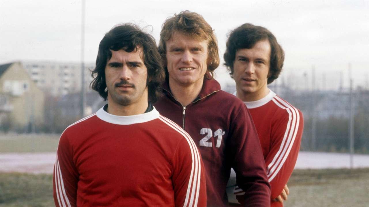 *GER ONLY* Gerd Müller Sepp Maier Franz Beckenbauer FC Bayern